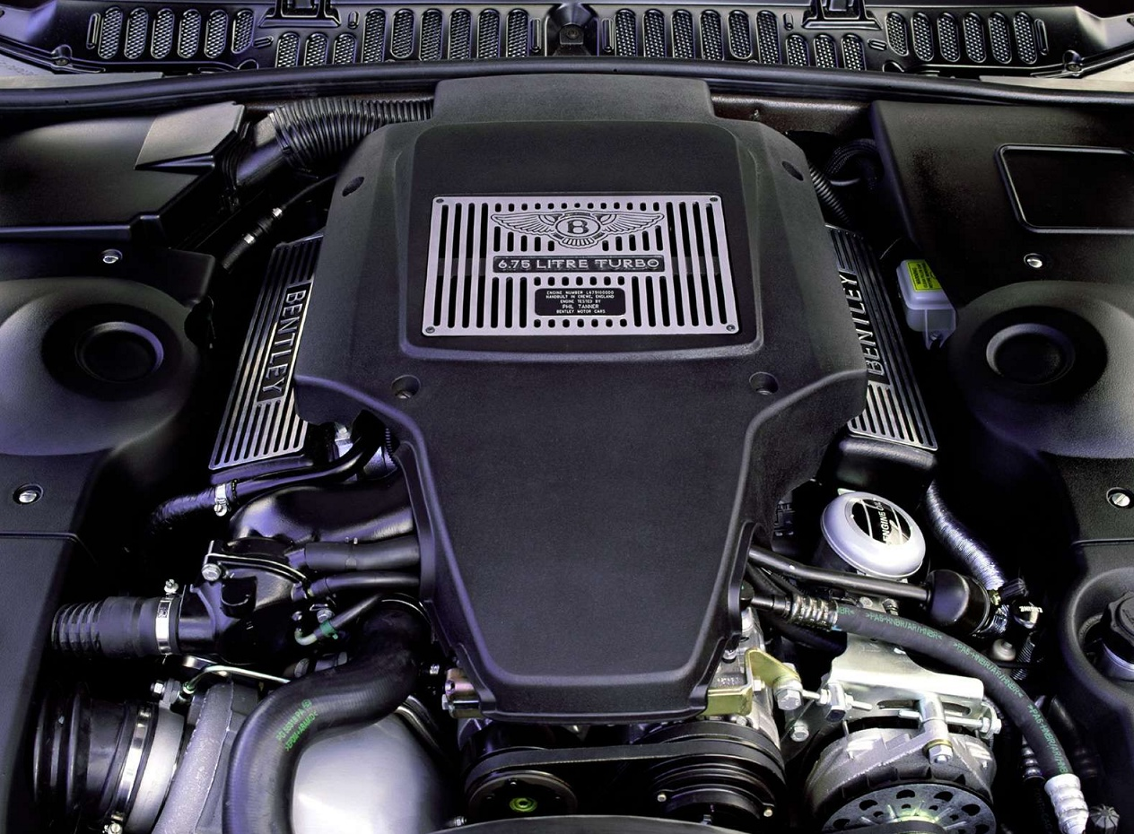 Bentley Arnage двигатель