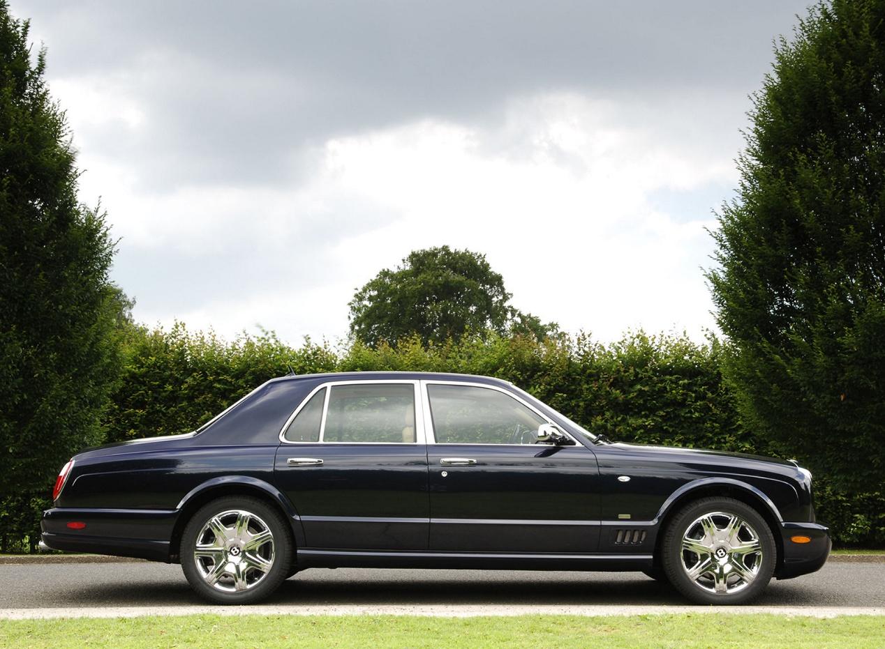 Bentley Arnage вид сбоку