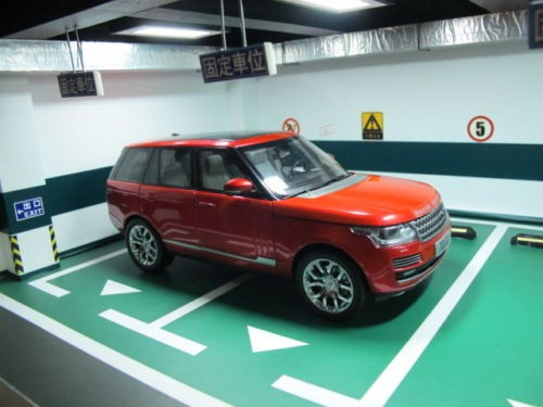 Range Rover MK4 моделька