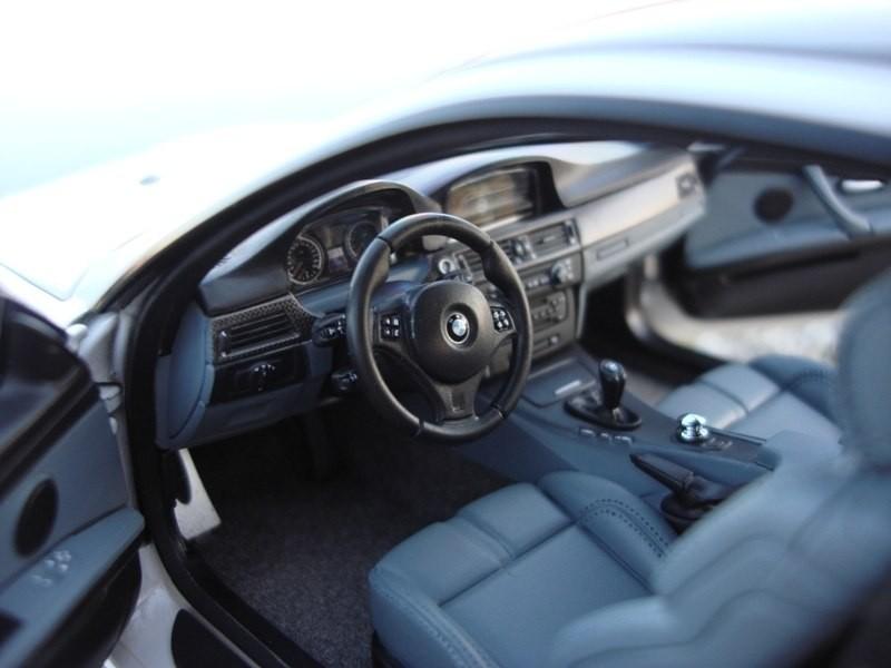 BMW M3 E92 салон