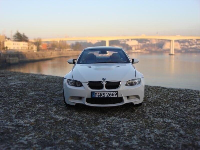 BMW M3 E92 вид спереди