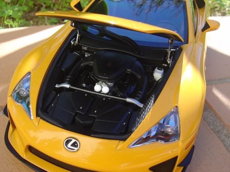 Lexus LFA двигатель