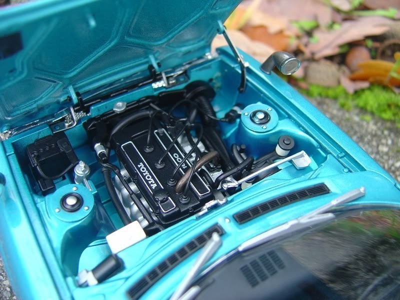 Toyota Celica 1600 GT двигатель