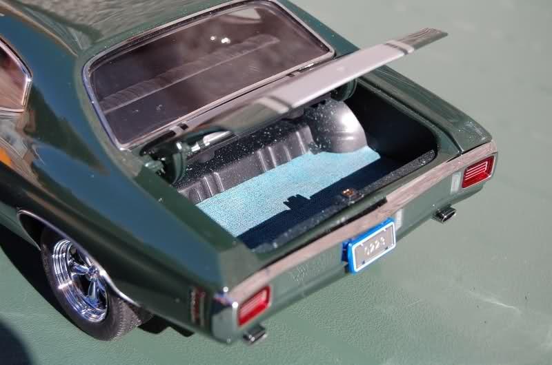Chevrolet Chevelle багажник