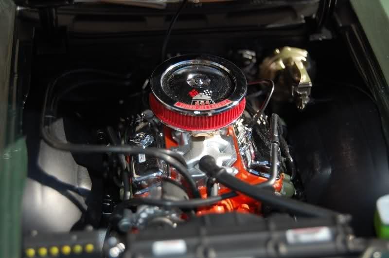 Chevrolet Chevelle двигаель