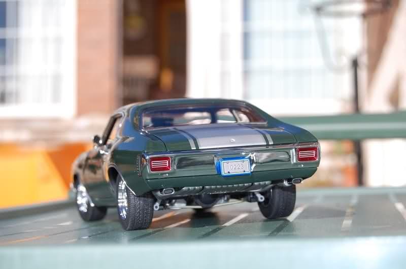 Chevrolet Chevelle вид сзади
