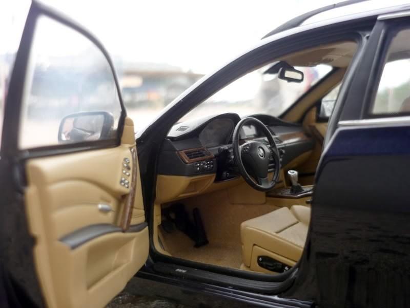 BMW 545i Touring салон