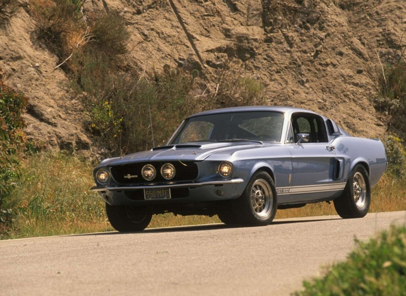 Ford Mustang Shelby GT500 1967 гоад