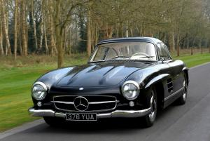 Mercedes-Benz 300 SL авто 1954