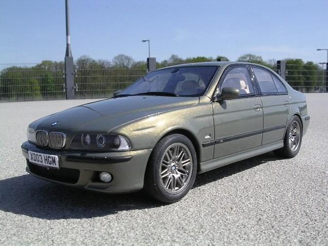 BMW M5 E39 фото авто