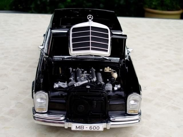 Двигатель Mercedes Benz 600SWB