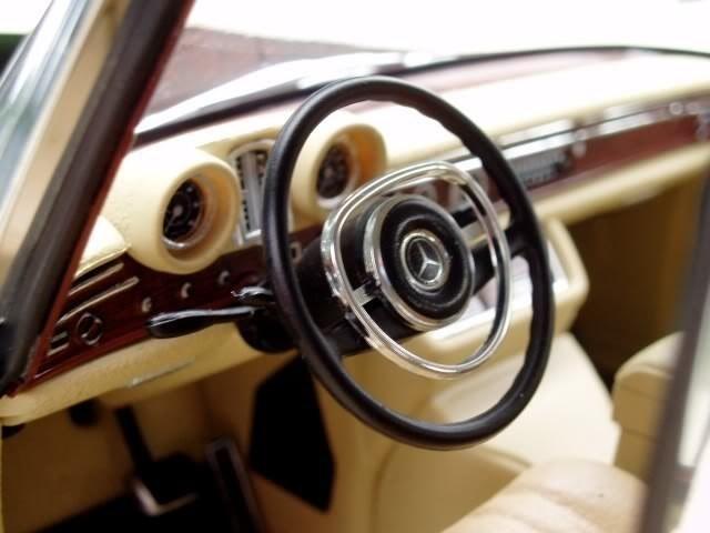 Салон Mercedes Benz 600SWB