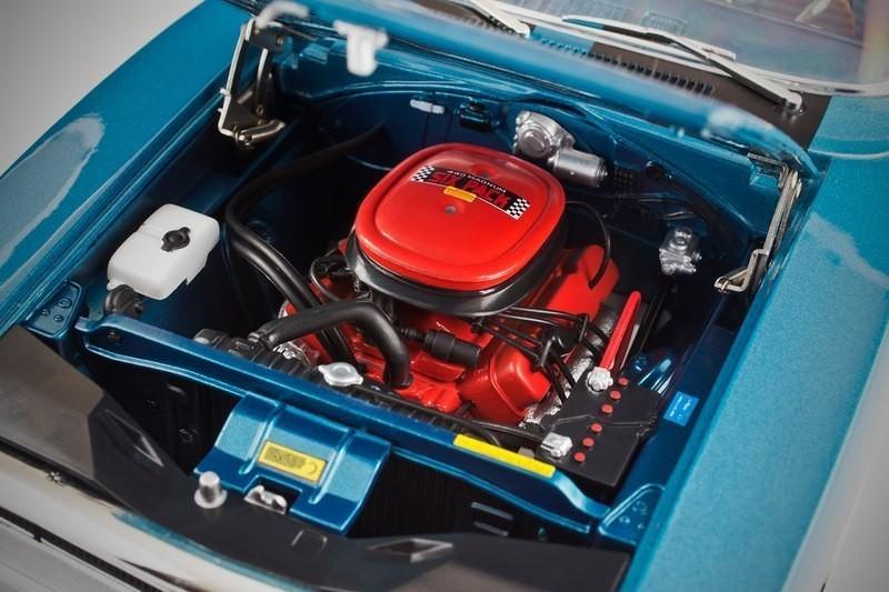 Dodge Charger 440 R/T двигатель