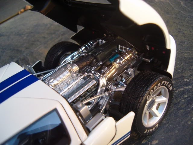 Ford GT двигатель