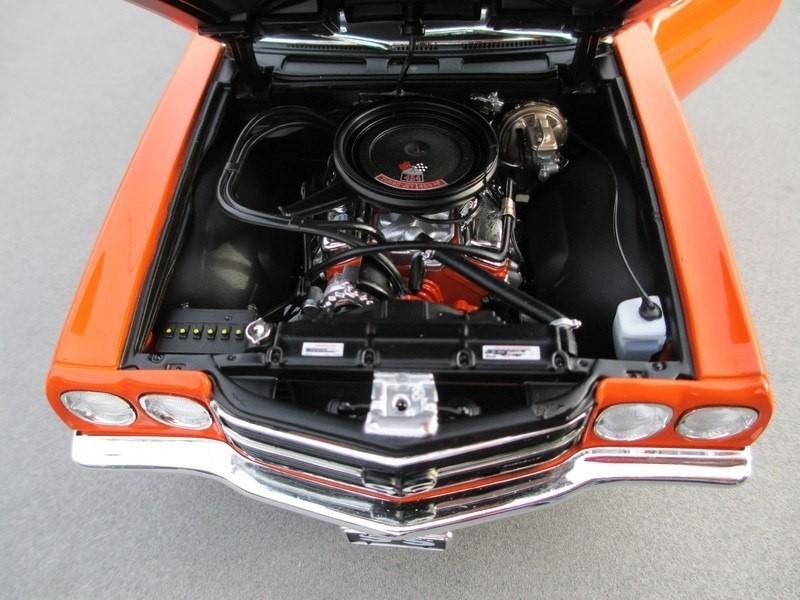 Двигатель Chevrolet Chevelle SS 454 LS6