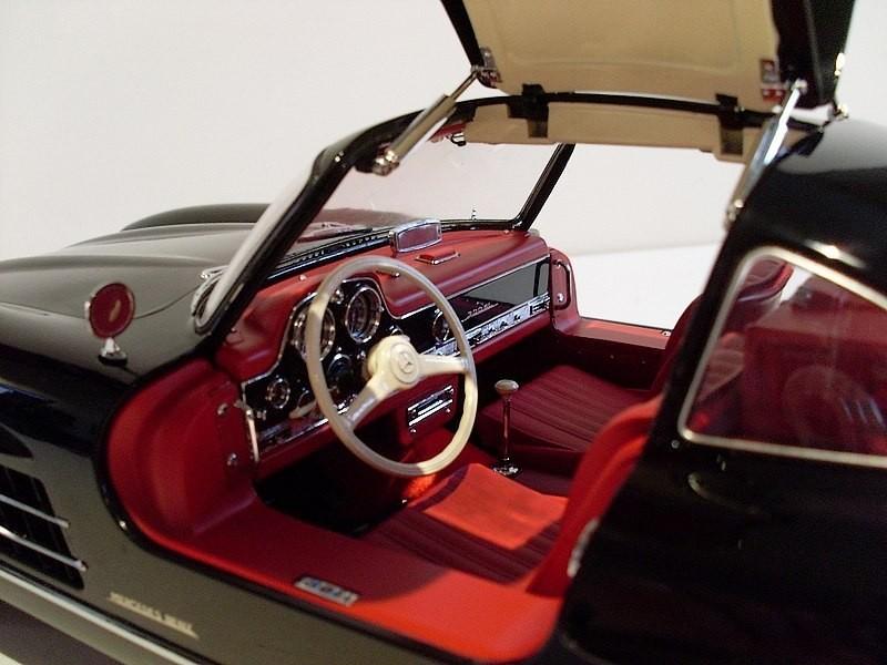 Салон Mercedes-Benz 300SL