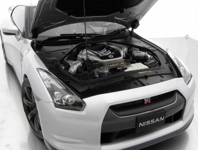 Nissan Gt-R R35 двигатель