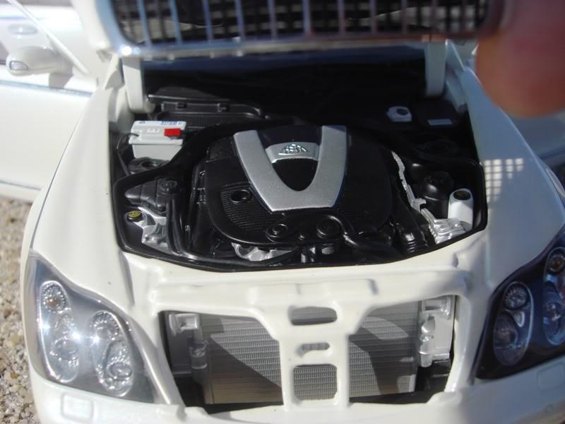 Maybach 57S двигатель
