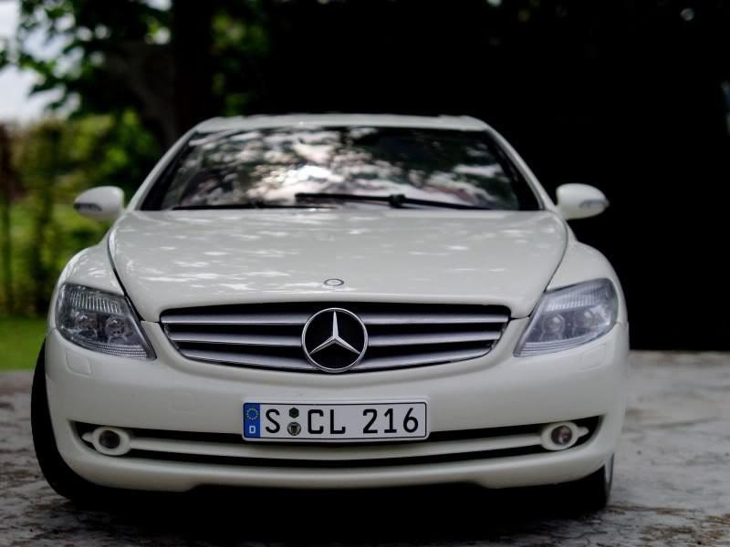 Вид спереди Mercedes-Benz CL 500