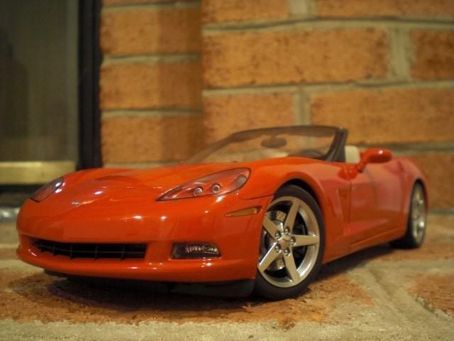 Chevrolet Corvette вид спереди