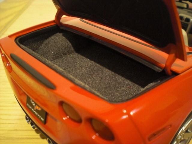 Багажник Chevrolet Corvette