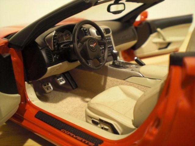 Салон Chevrolet Corvette