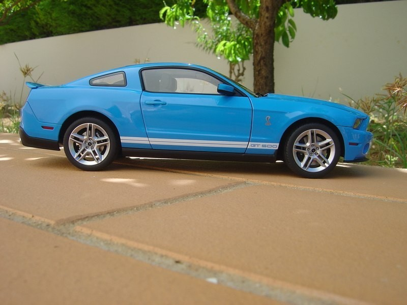 Вид сбоку Ford Shelby Mustang GT500