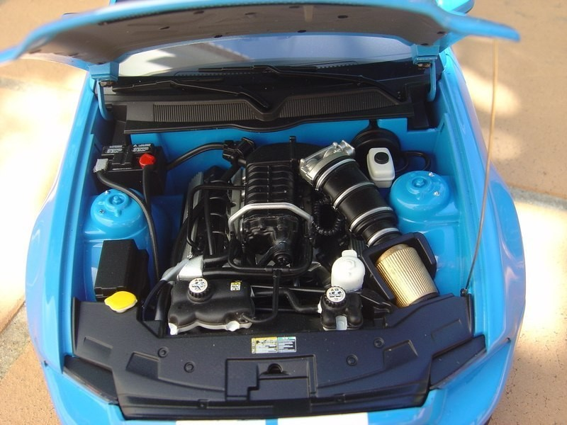 Двигатель Ford Shelby Mustang GT500