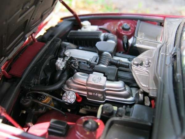 BMW 535i E34 двигатель