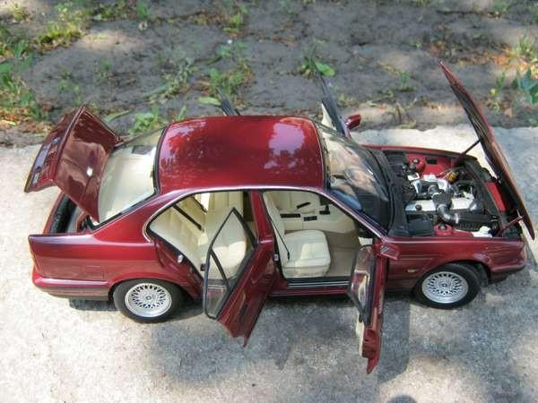 BMW 535i E34 кузов