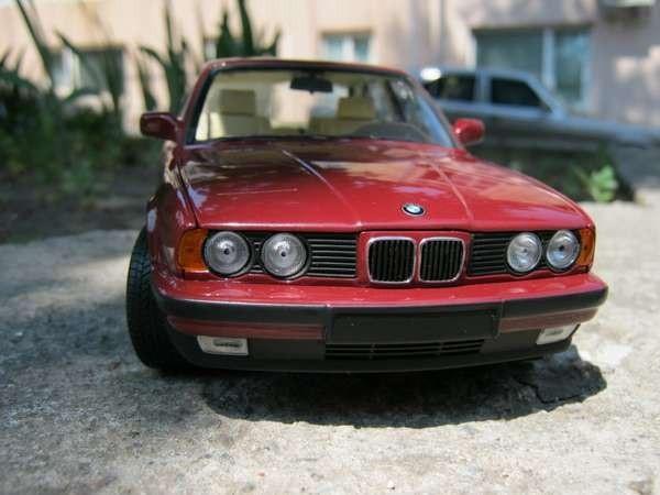 BMW 535i E34 фото авто