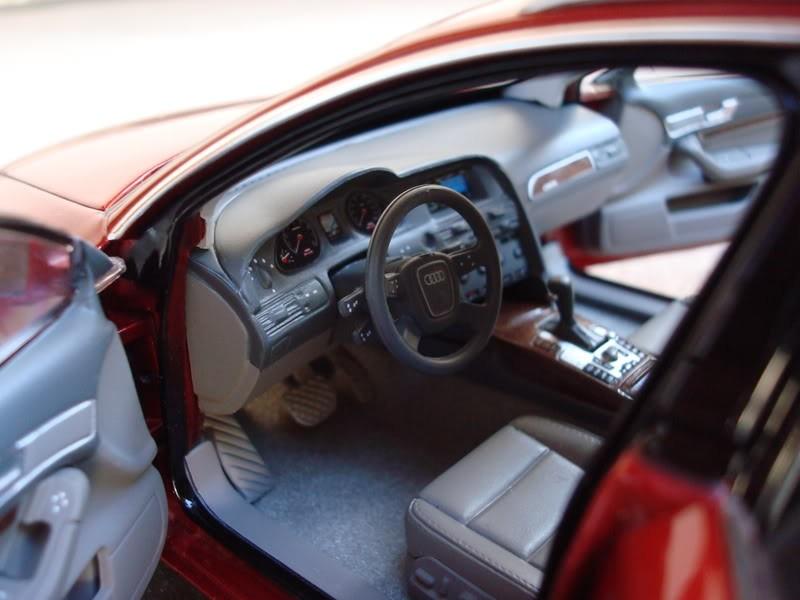 Салон Audi A6 Avant 3.2 Quattro
