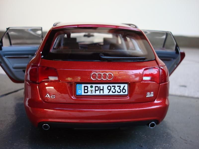 Вид сзади Audi A6 Avant 3.2 Quattro