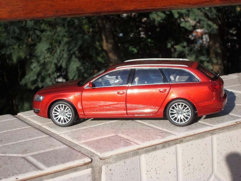 Вид сбоку Audi A6 Avant 3.2 Quattro