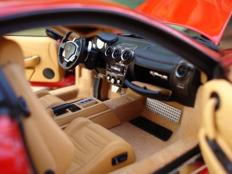 Ferrari F430 фотография салона
