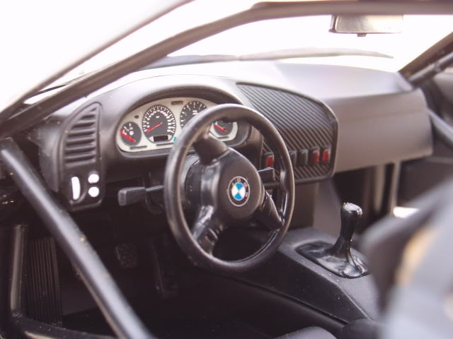 Салон Bmw M3 GTR