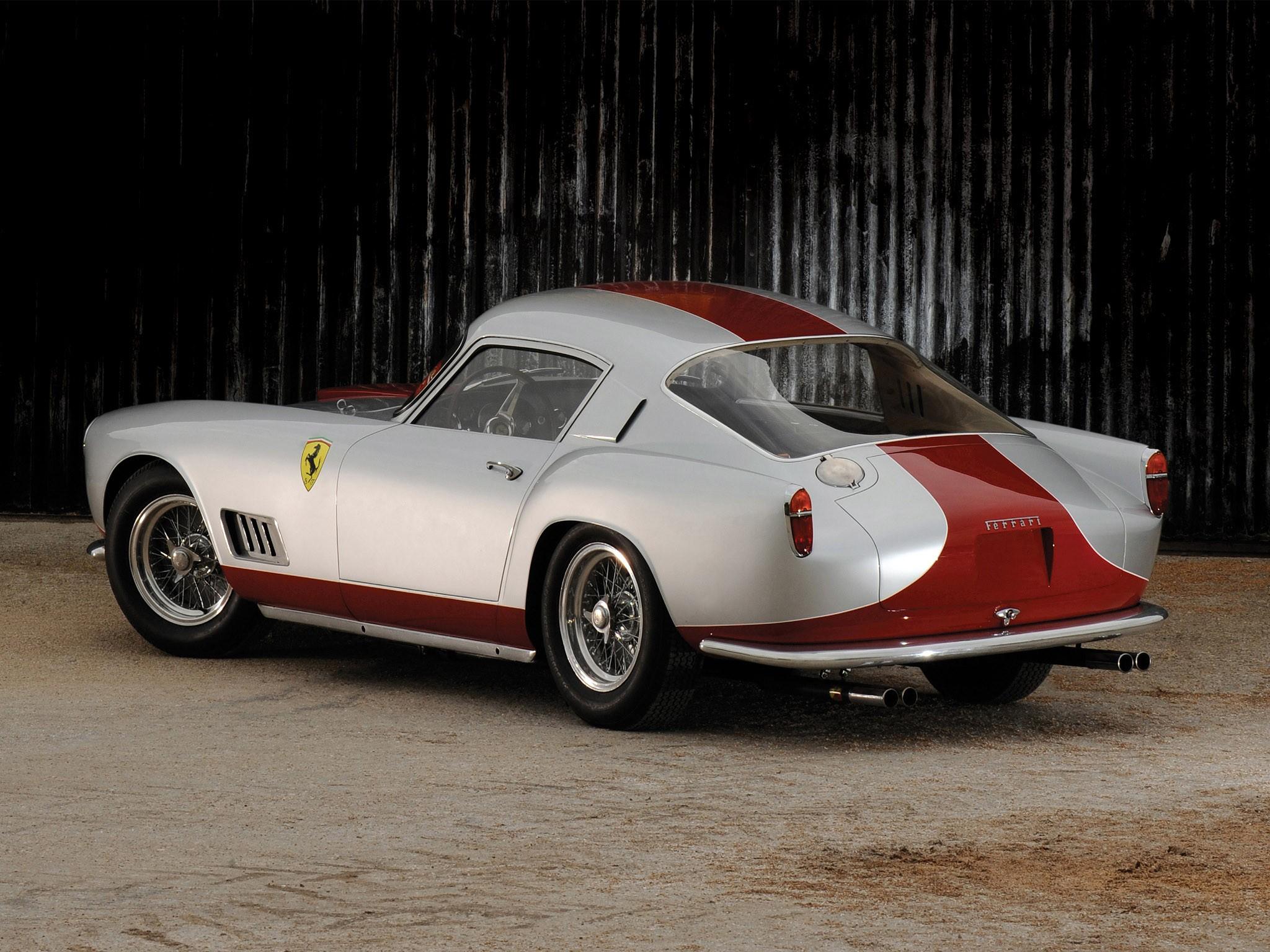 Ferrari 250 GT Tour de France photo car