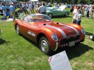 Pontiac Bonneville Special авто 1954