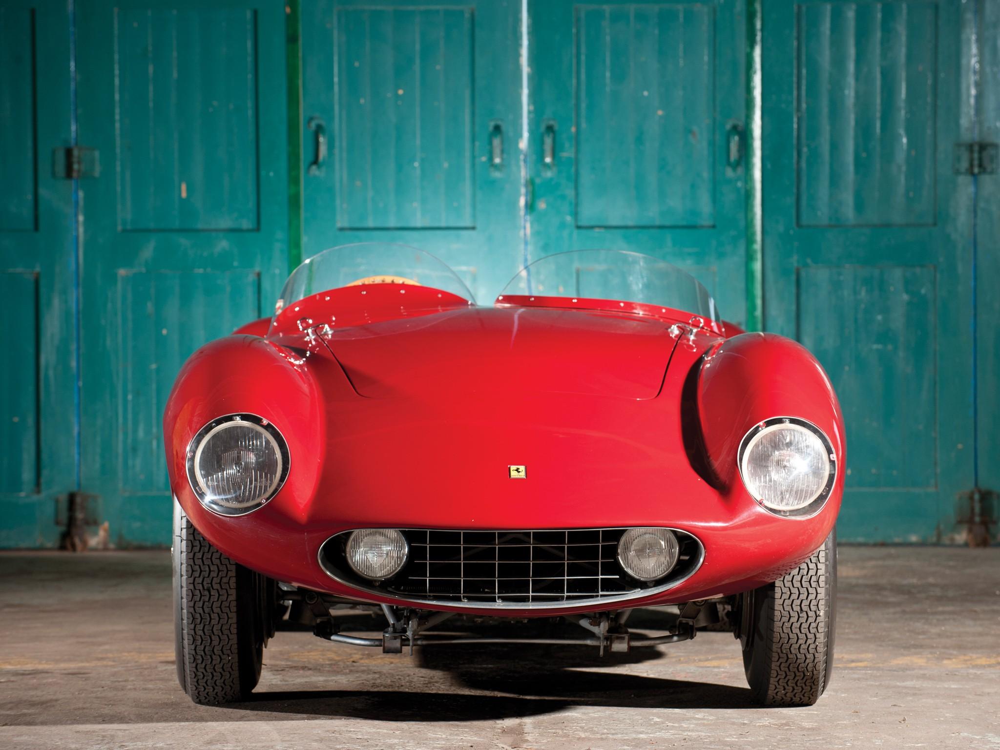 Ferrari 750 Monza вид спереди