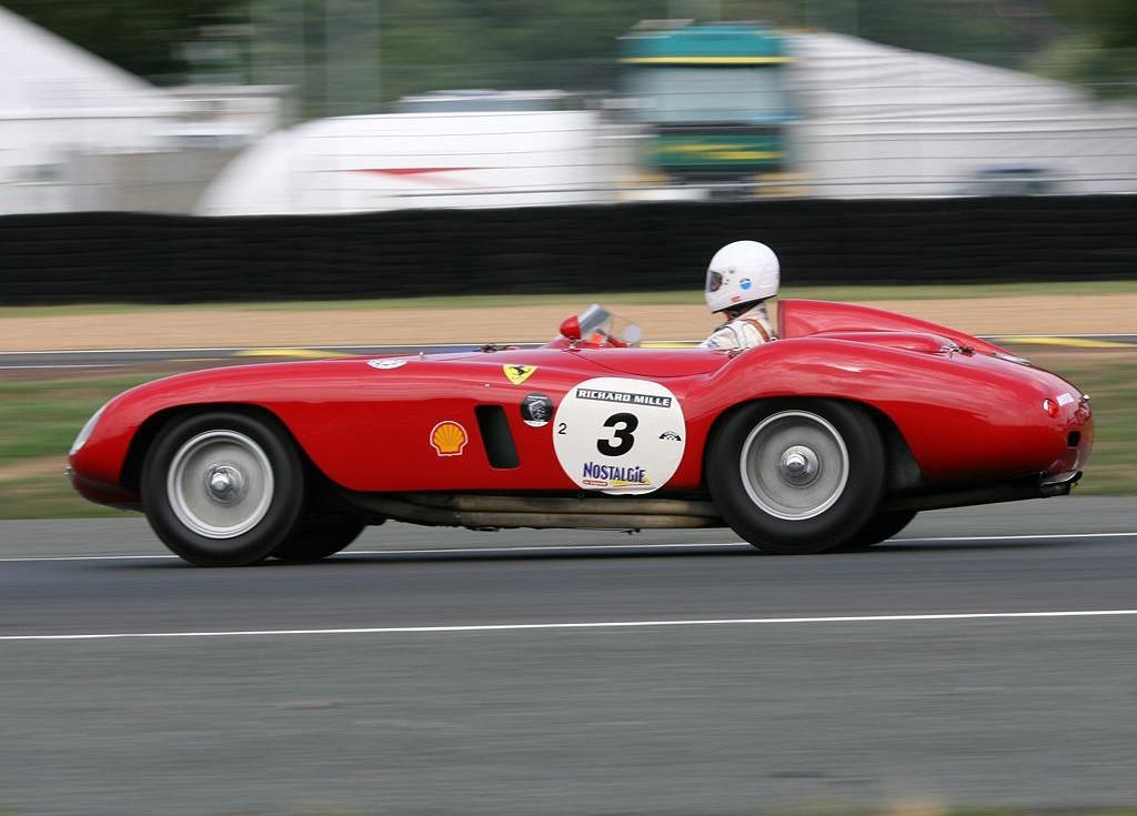 Ferrari 121 LM Scaglietti Spyder car
