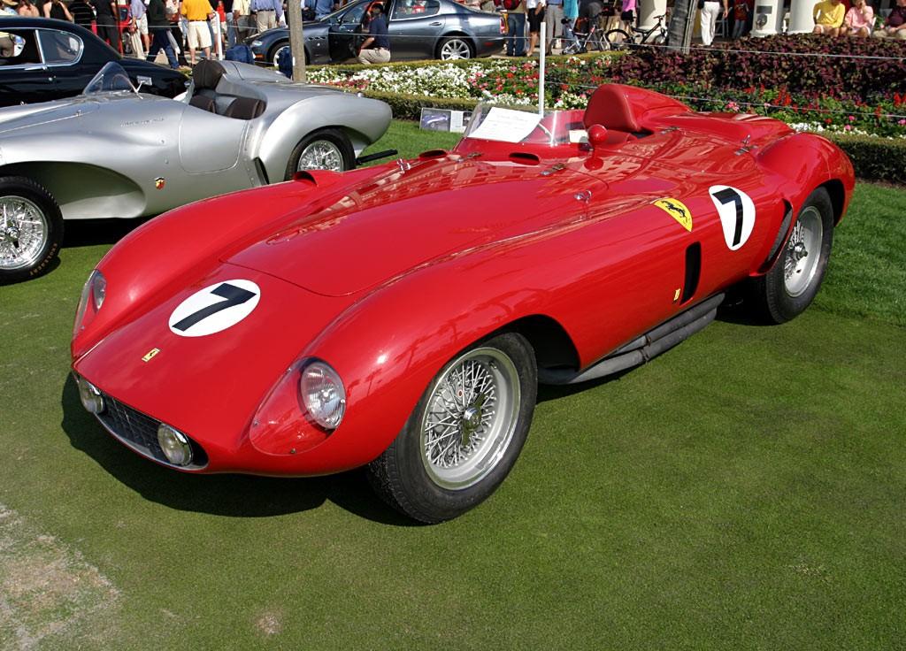 Ferrari 121 LM Scaglietti Spyder авто