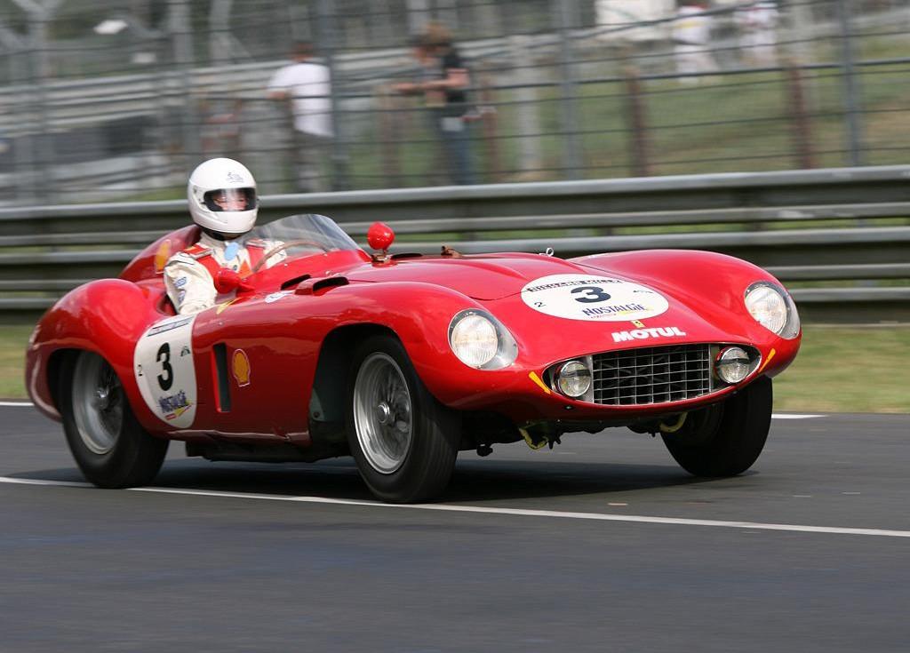 Ferrari 121 LM Scaglietti Spyder фото авто