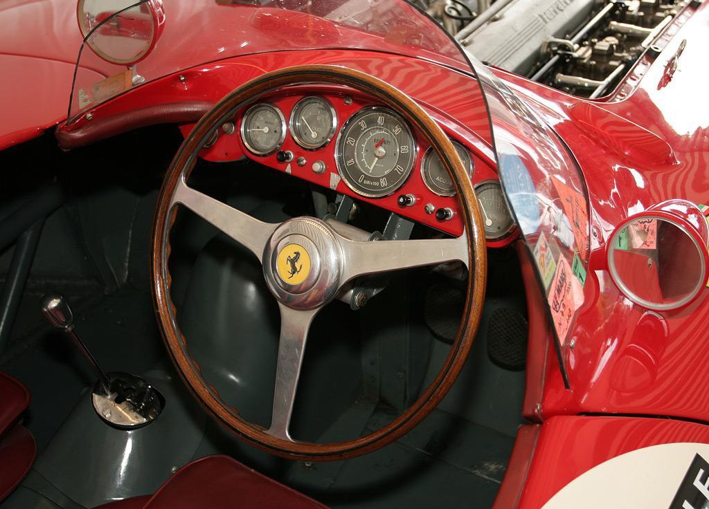 Ferrari 121 LМ Scaglietti Spyder 1955 фото видео цена