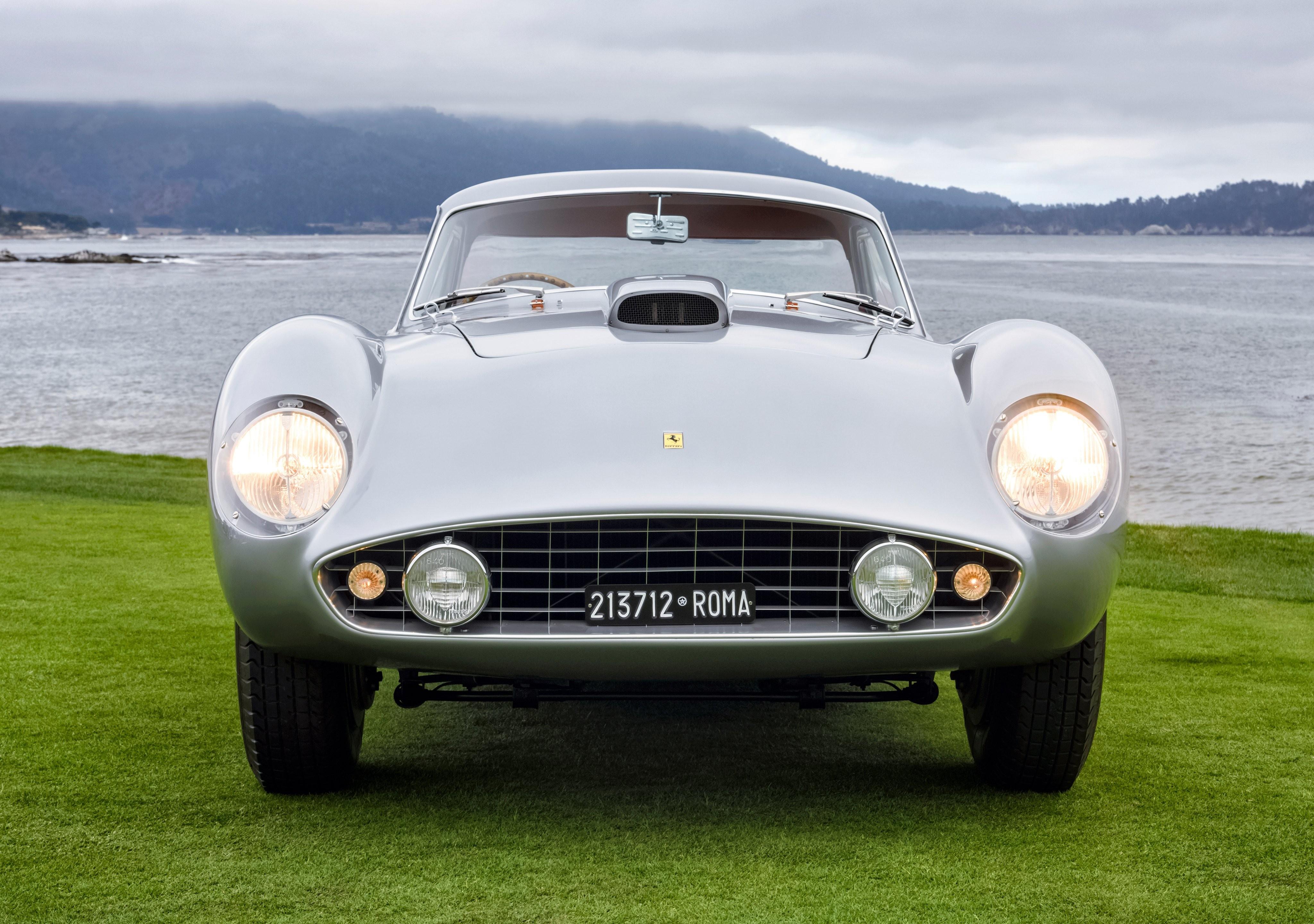 Ferrari 375 MM Coupe Scaglietti вид спереди