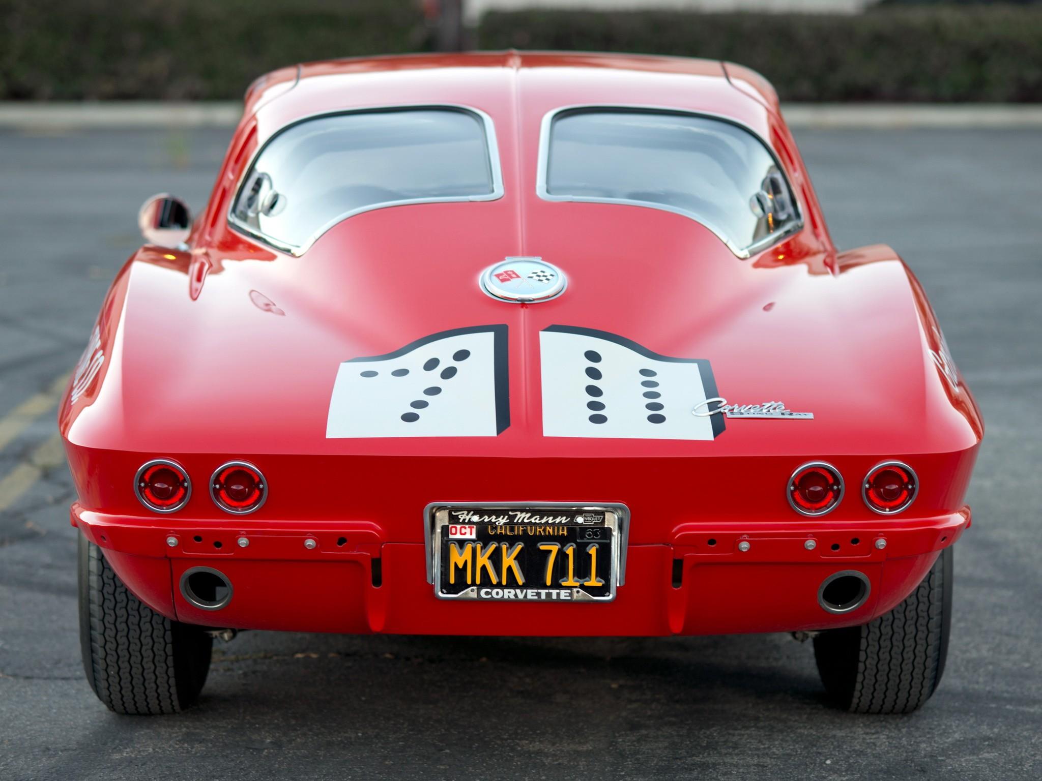 Chevrolet Corvette C2 Sting Ray вид сзади