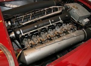 Alfa Romeo 6C 3000 CM Colli Spider двигатель