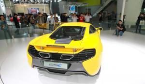 McLaren 625C Coupe вид сзади