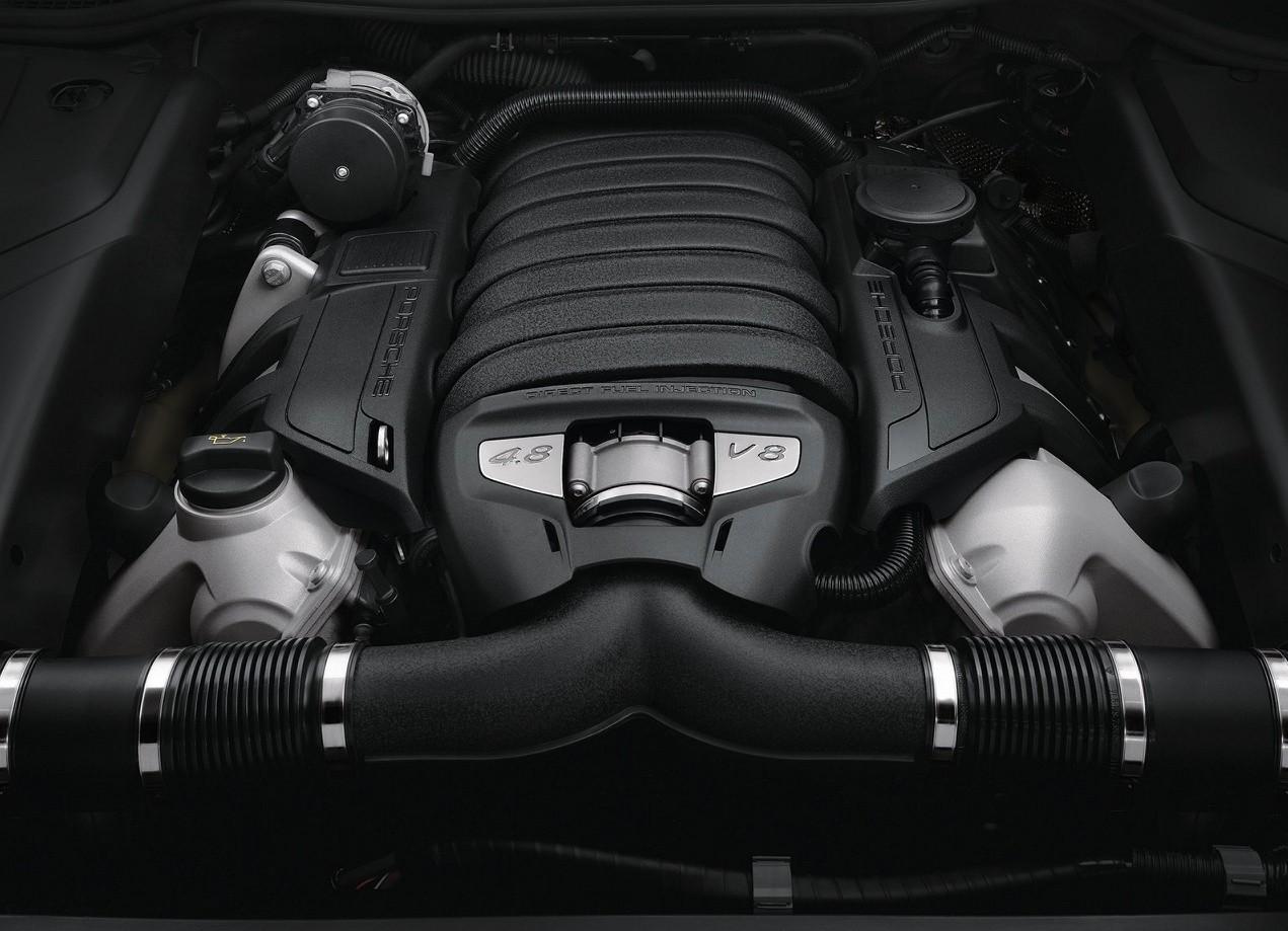 Porsche Cayenne GTS двигатель