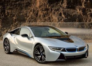 BMW i8 фотография автомобиля