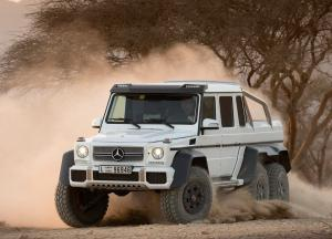 Mercedes-Benz G63 AMG 6x6 car